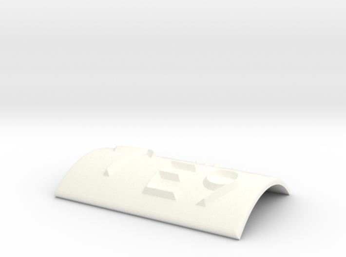 E9 mit Pfeil nach oben 3d printed