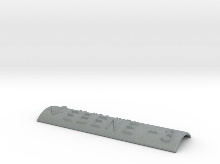 EBENE -3 mit Pfeil nach unten 3d printed