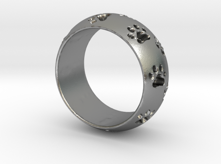 Cat Track Ring 0.753 inch/19.15 mm 3d printed
