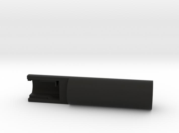 "1"" OD Nano Biscotte V3 Sound Card Chassis 3d printed"