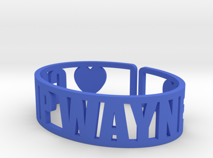 Camp Wayne Cuff 3d printed