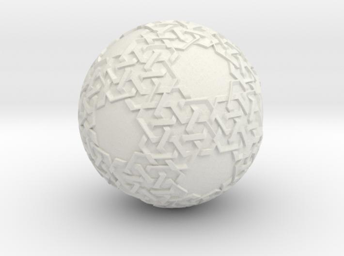 Islamic Art On A Ball 3d printed