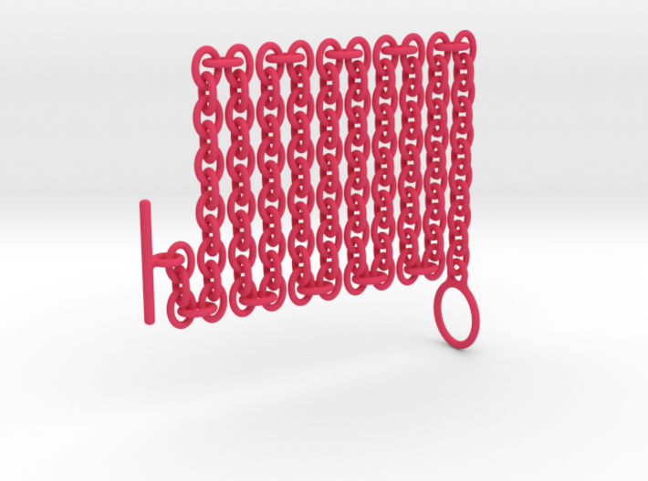 Basic Oval Chain - 22in 3d printed