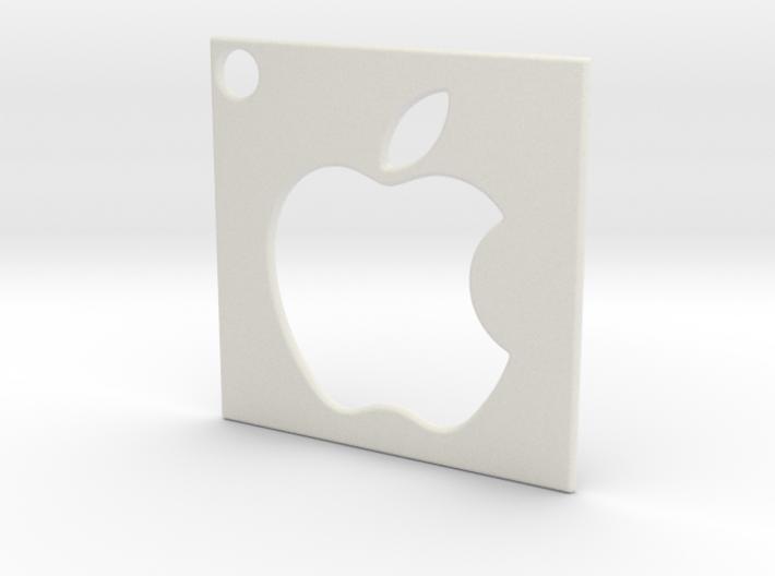 Apple - Logo Pendant 3d printed
