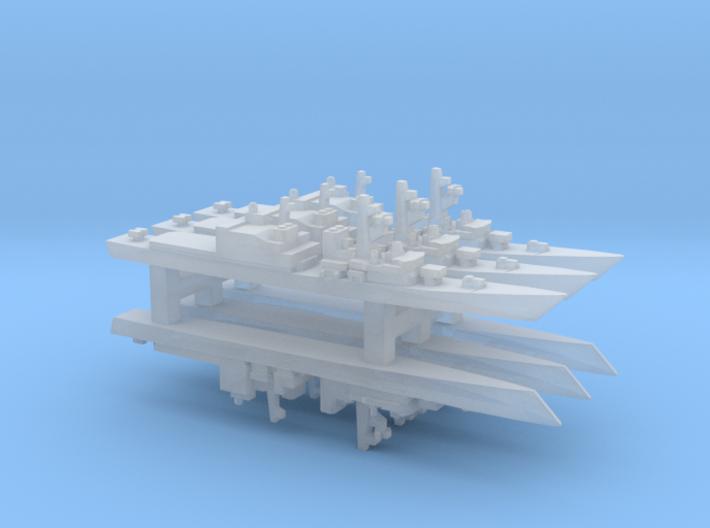Asagiri-class destroyer x 6, 1/6000 3d printed