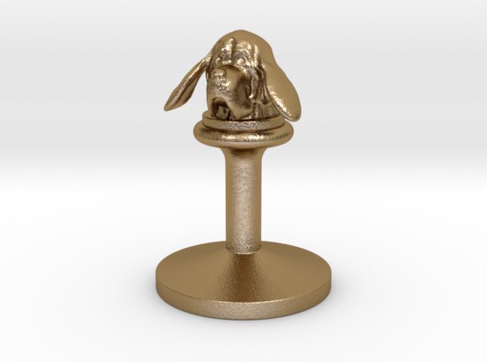 bloodhound - wax seals stamp (20mm) 3d printed
