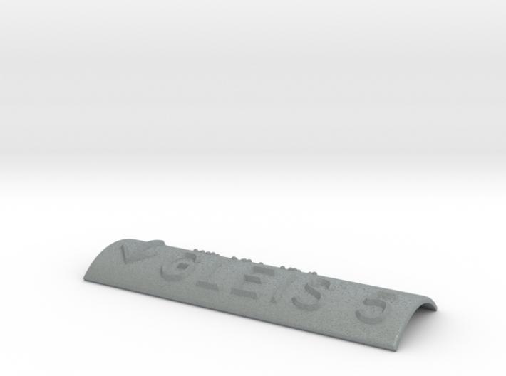 GLEIS 5 mit Pfeil nach unten 3d printed