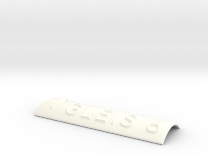 GLEIS 6 mit Pfeil nach oben 3d printed