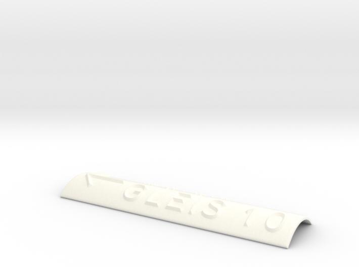 GLEIS 10 mit Pfeil nach links 3d printed