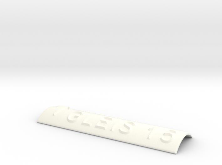 GLEIS 15 mit Pfeil nach oben 3d printed
