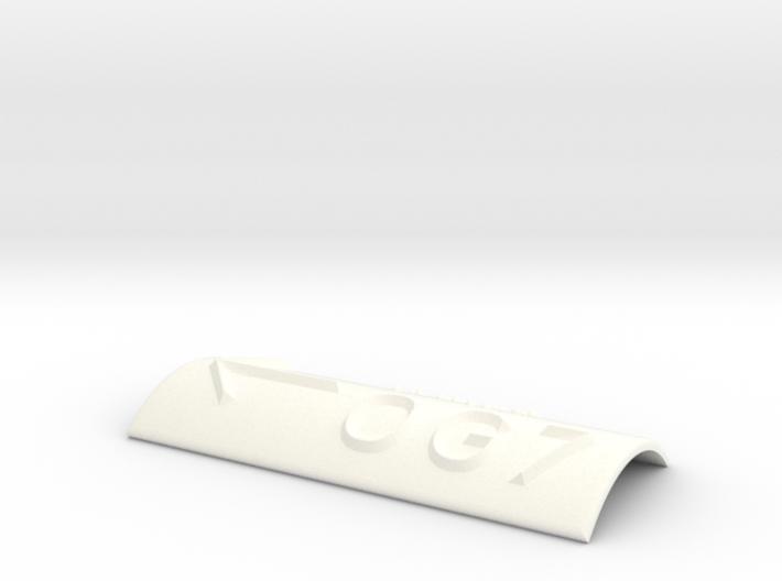 OG 7 mit Pfeil nach links 3d printed