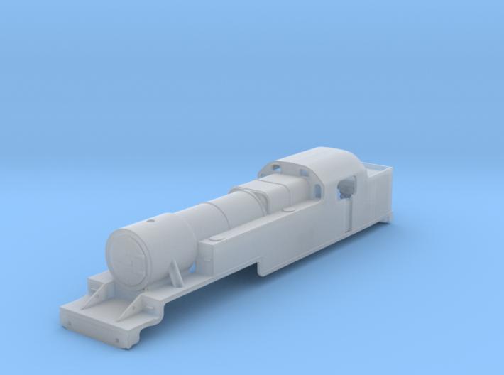 Fowler 2-6-4T Model 2mm 3d printed