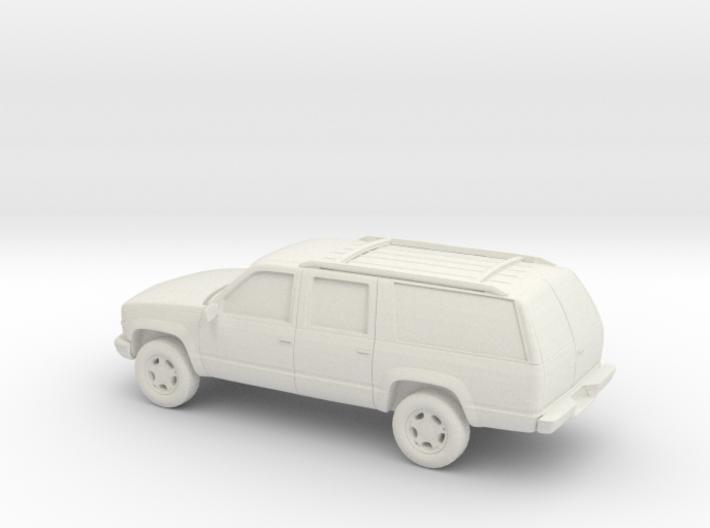 1/87 1999 Chevrolet Suburban 3d printed