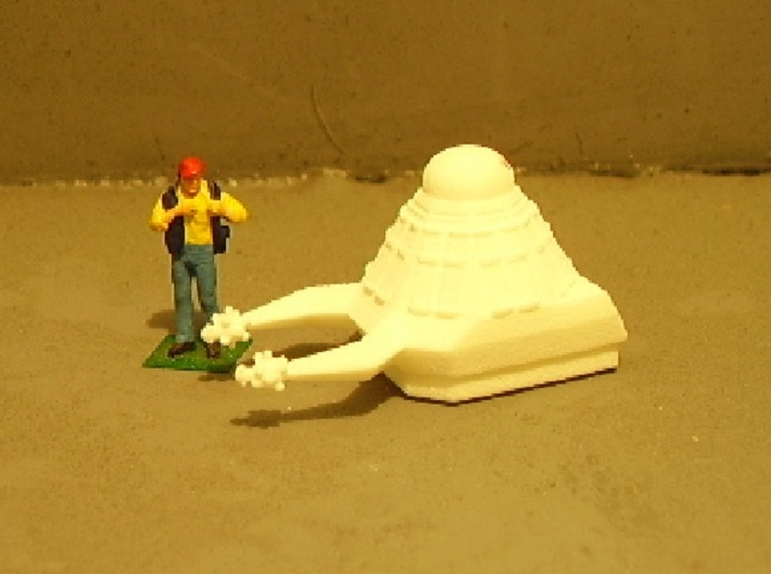 Death Probe 1-87 3d printed Next too stock HO figure. Unpainted.