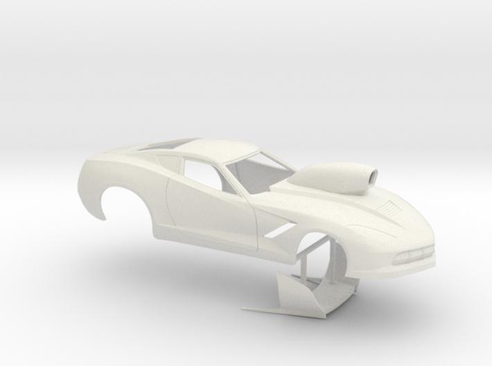 1/8 2014 Pro Mod Corvette 3d printed