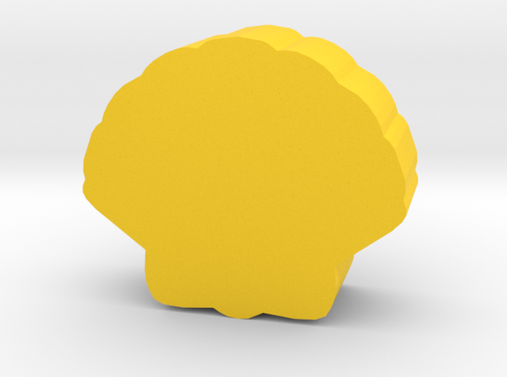 Game Piece, Sea Shell 3d printed