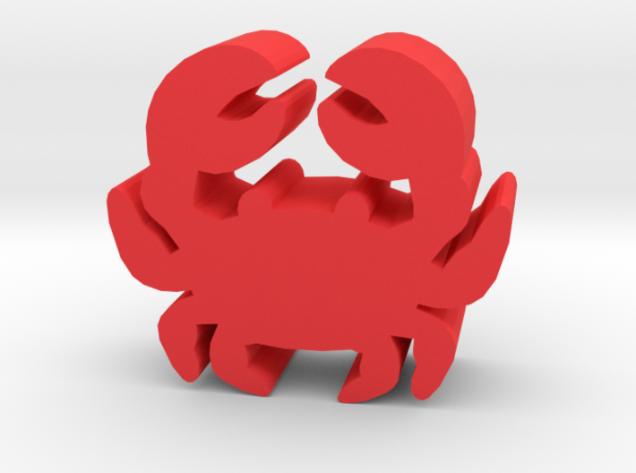 Game Piece, Crab 3d printed