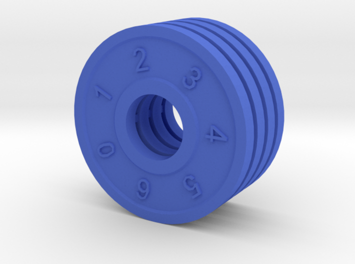 Shield Dial 3d printed