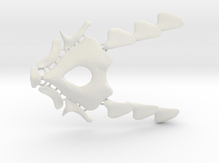 NeoNordic Bone necklace  3d printed