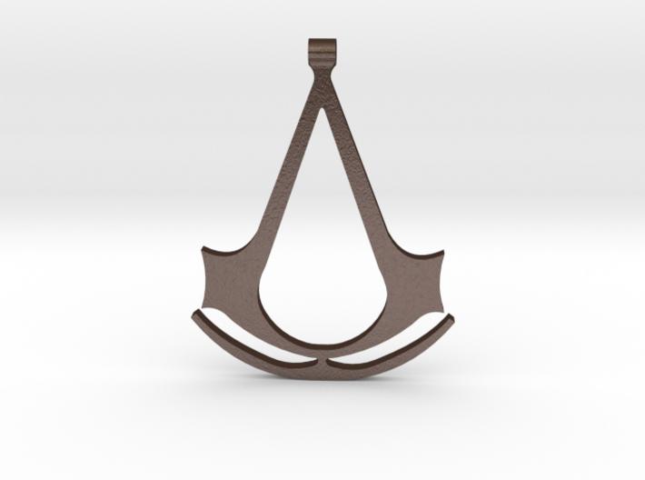 Assassins Creed Pendant 3d printed
