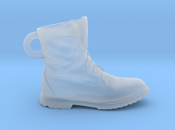 Timberland Shoe Keychain 3d printed
