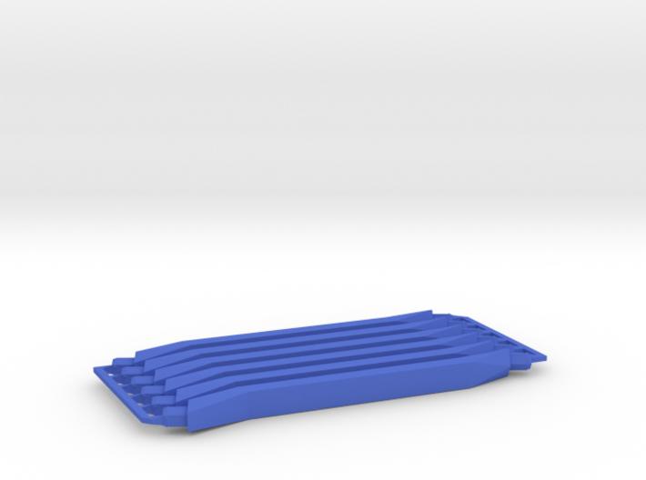 6 medium navy struts 3d printed
