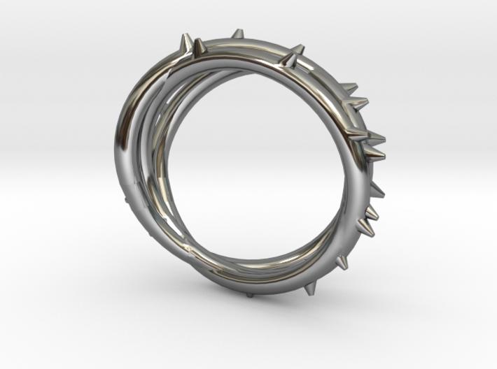 Rose Thorn Ring - Sz.10 3d printed