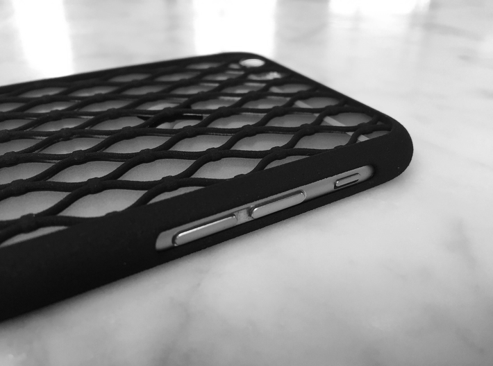 Fence - iPhone 6S Case 3d printed Well accessible buttons