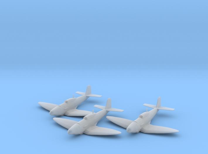 Heinkel He 112B 1:200 x3 FUD 3d printed
