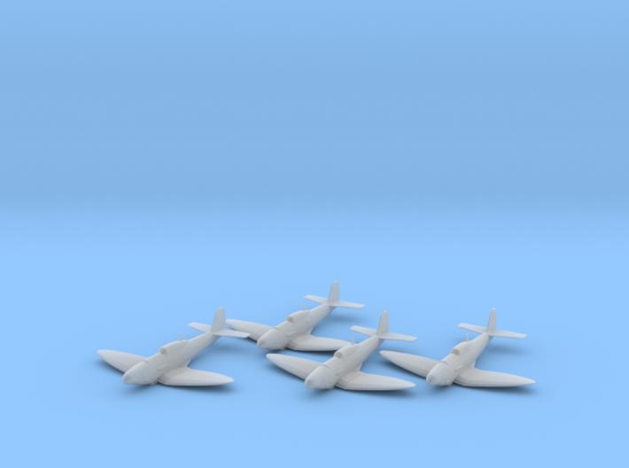 Heinkel He 112B 1:200 x4 FUD 3d printed