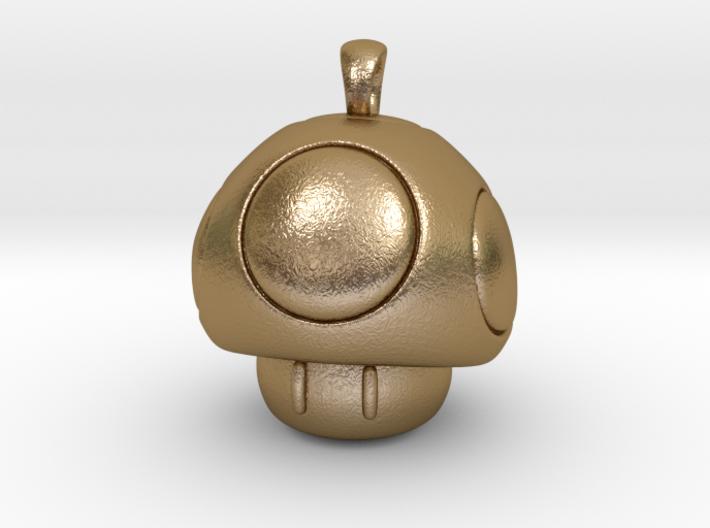 1UP Mushroom pendant 3d printed
