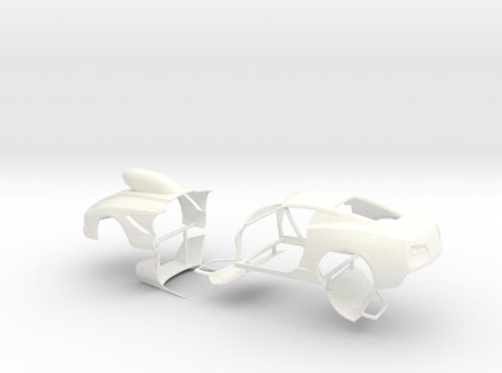 1/25 2014 Pro Mod Vette Separate Doors And Hood 3d printed