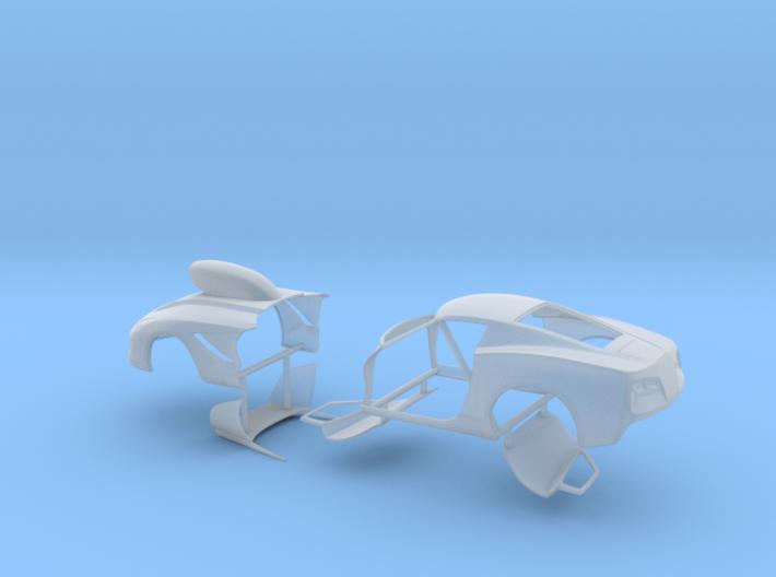 1/64 2014 Pro Mod Vette Separate Doors And Hood 3d printed