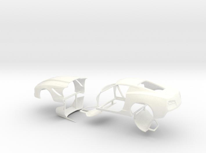 1/32 2014 Pro Mod Vette No Scoop Sep Doors And Hoo 3d printed