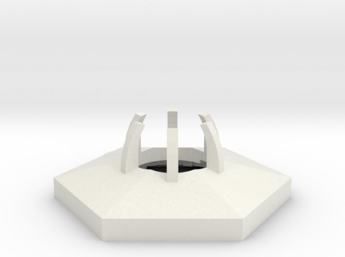 project: uranium hexagon body 3d printed
