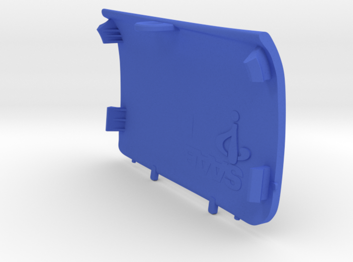 Rear-Left Saab Jack Point Cover 3d printed