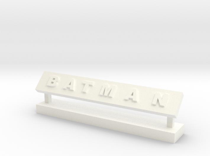 Batman Desk Decor 3d printed