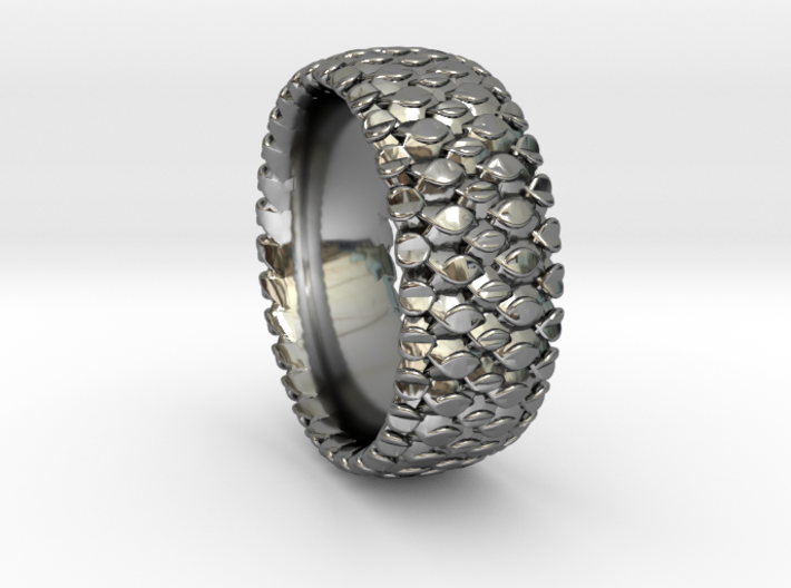 Dbl Scale Ring 2016 Size 11 3d printed
