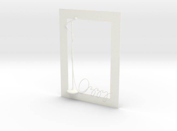 Ozzy Osbourne for photo frame 3d printed