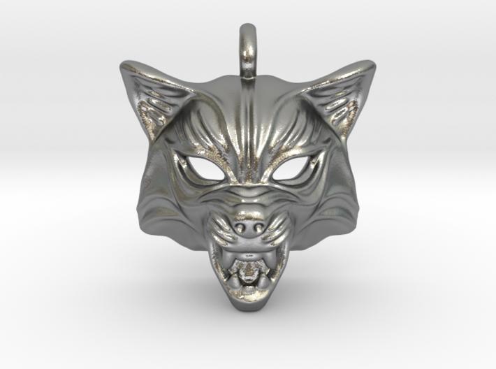 Fox Type 2 Small Pendant 3d printed