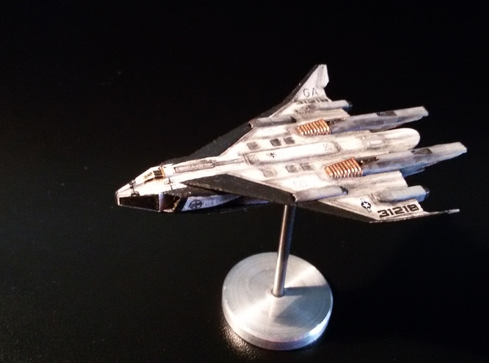 SSTO Valkyrie Shuttle 3d printed