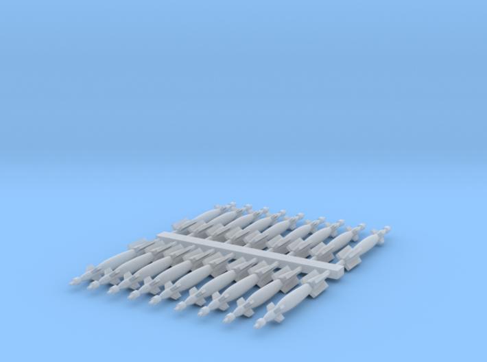 1:350 Scale GBU-12 Paveway II (18x) 3d printed