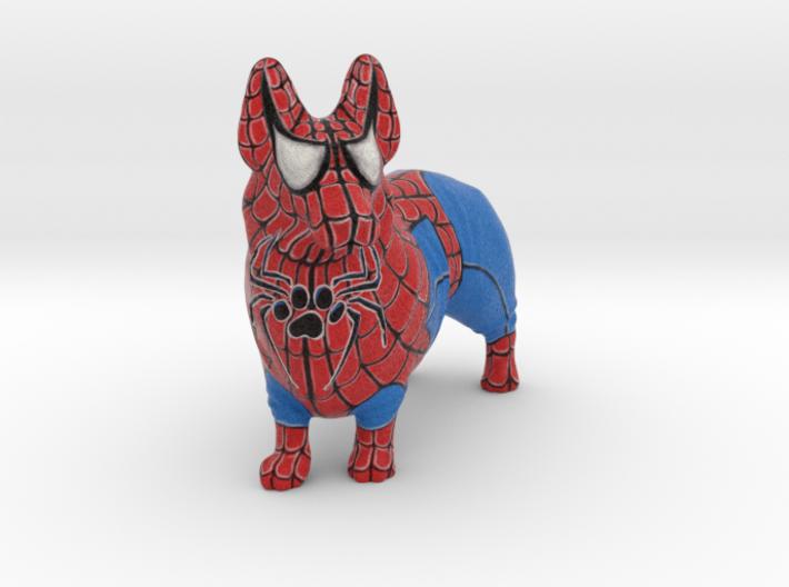 Spider Corgi 3d printed