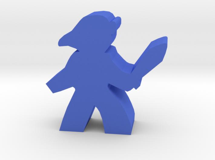 Game Piece, Warrior Heroine 3d printed