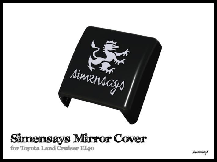 Simensays FJ40 Mirror Cover 3d printed