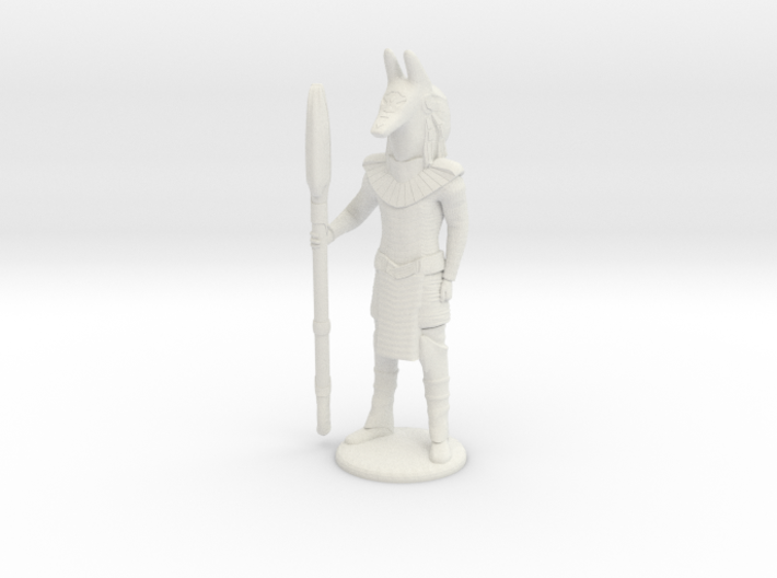 Jackal Guard At Attention - 20 mm 3d printed