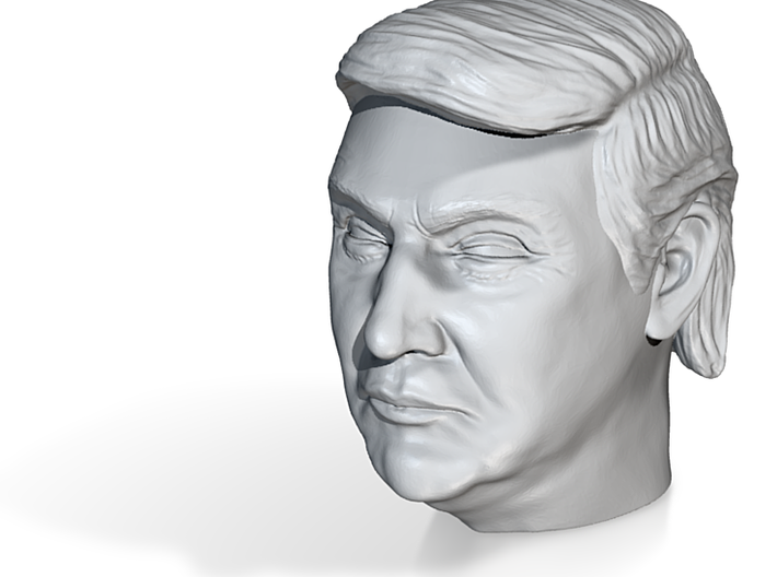 Donald Trump Head 3d printed