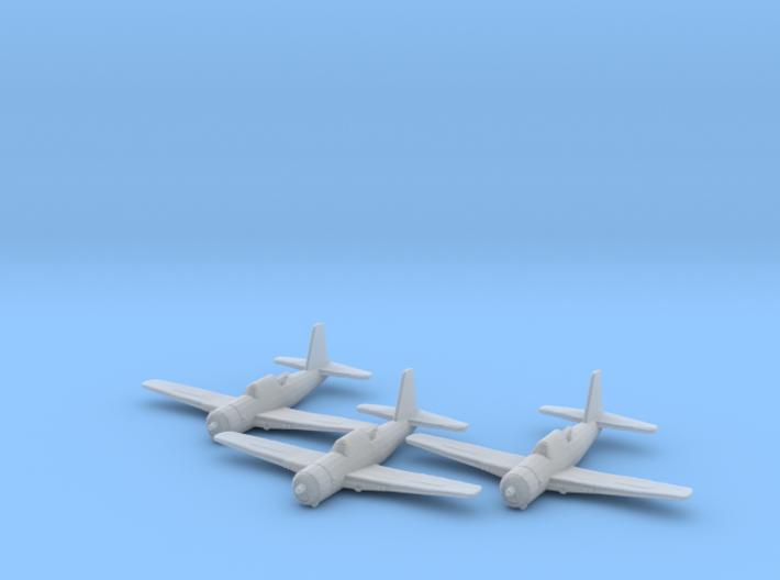 Vultee A-35 'Vengeance' 1:200 x3 FUD 3d printed