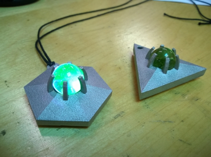 project: uranium triangle body 3d printed