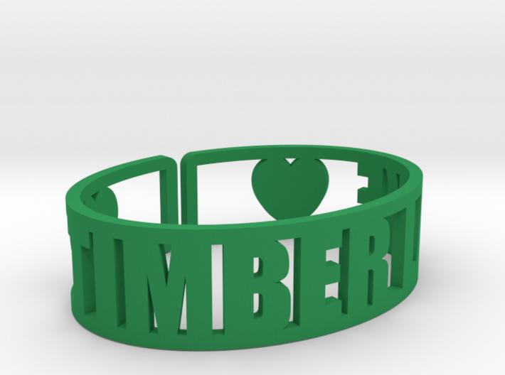 Timber Lake Cuff 3d printed